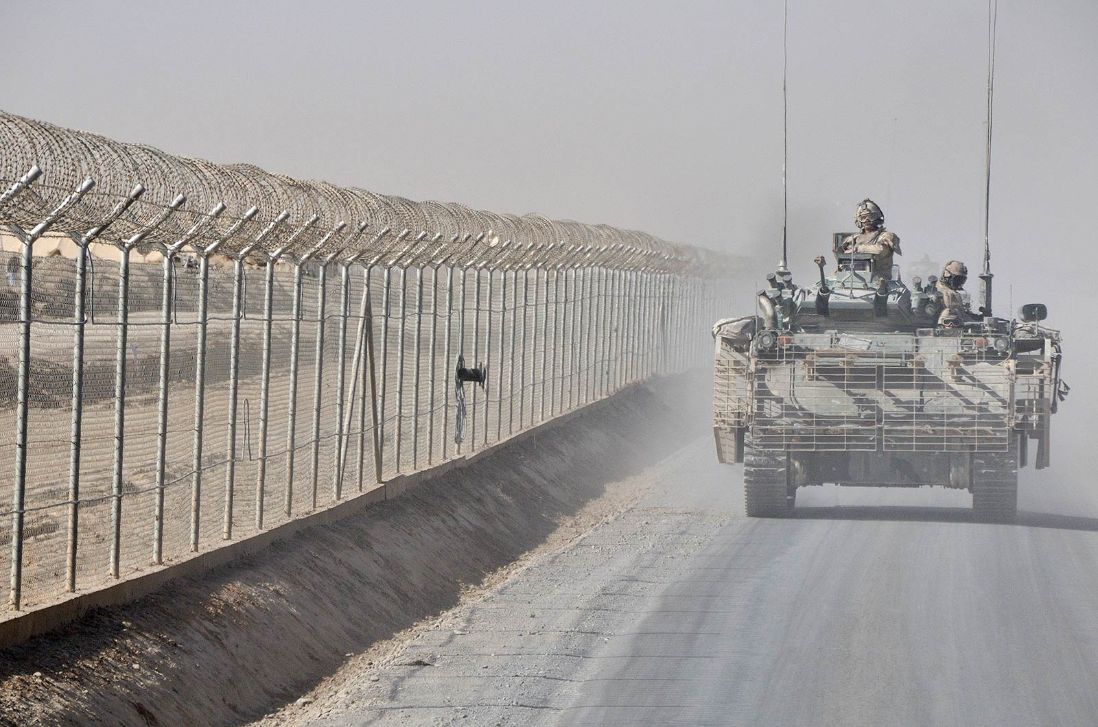 Photo: Tracked Light Armoured Vehicle (TLAV), Kandahar, Afghanistan