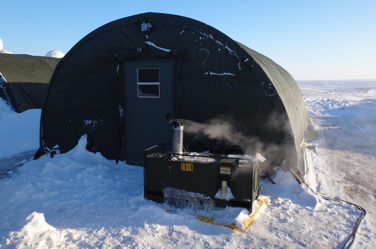 DEW Heater, Arctic