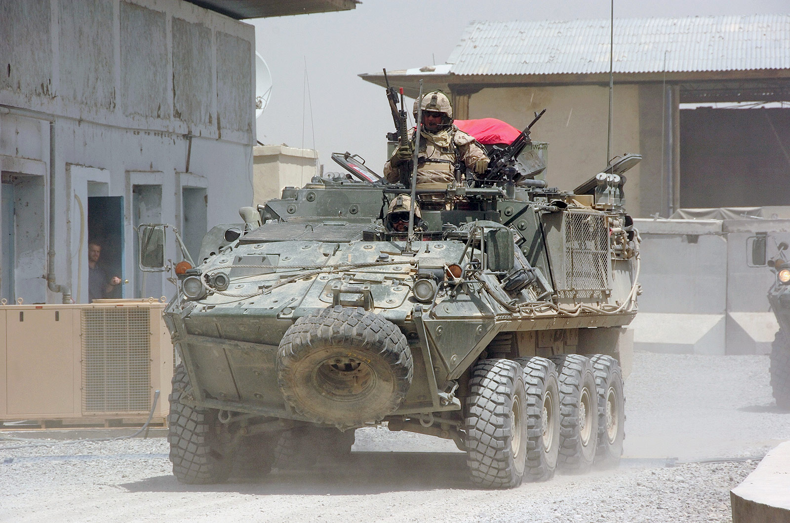 Photo: Bison  Light Armoured Vehicle (LAV), Canadian Forces in Afghanistan