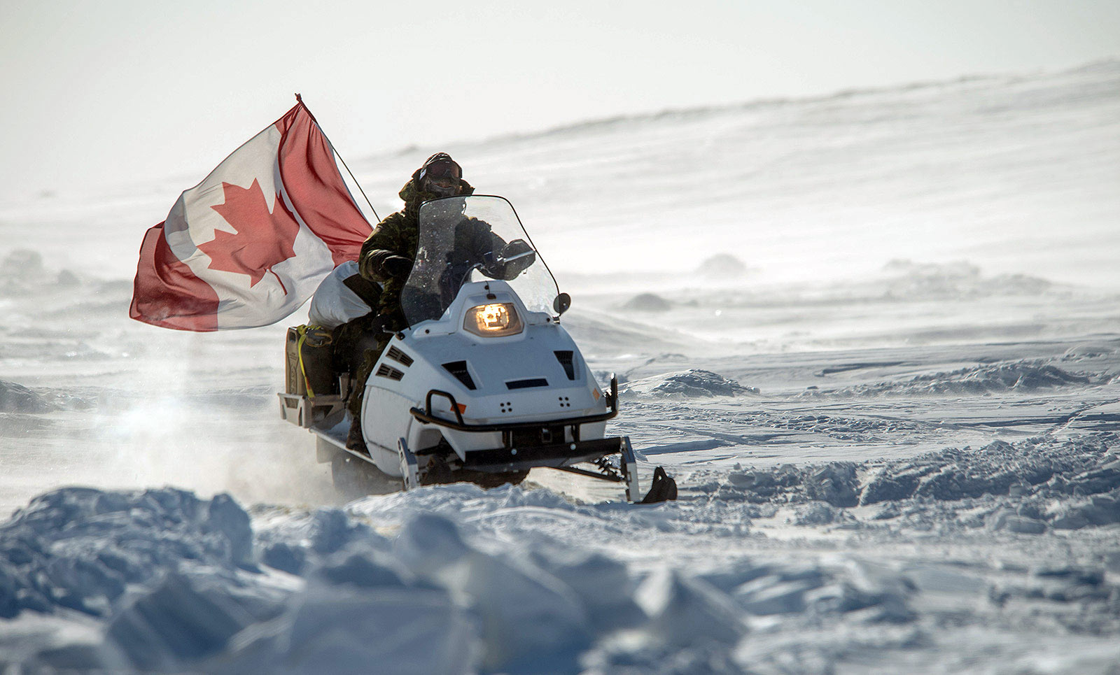D900 Snowmobile - Proudly Canadian