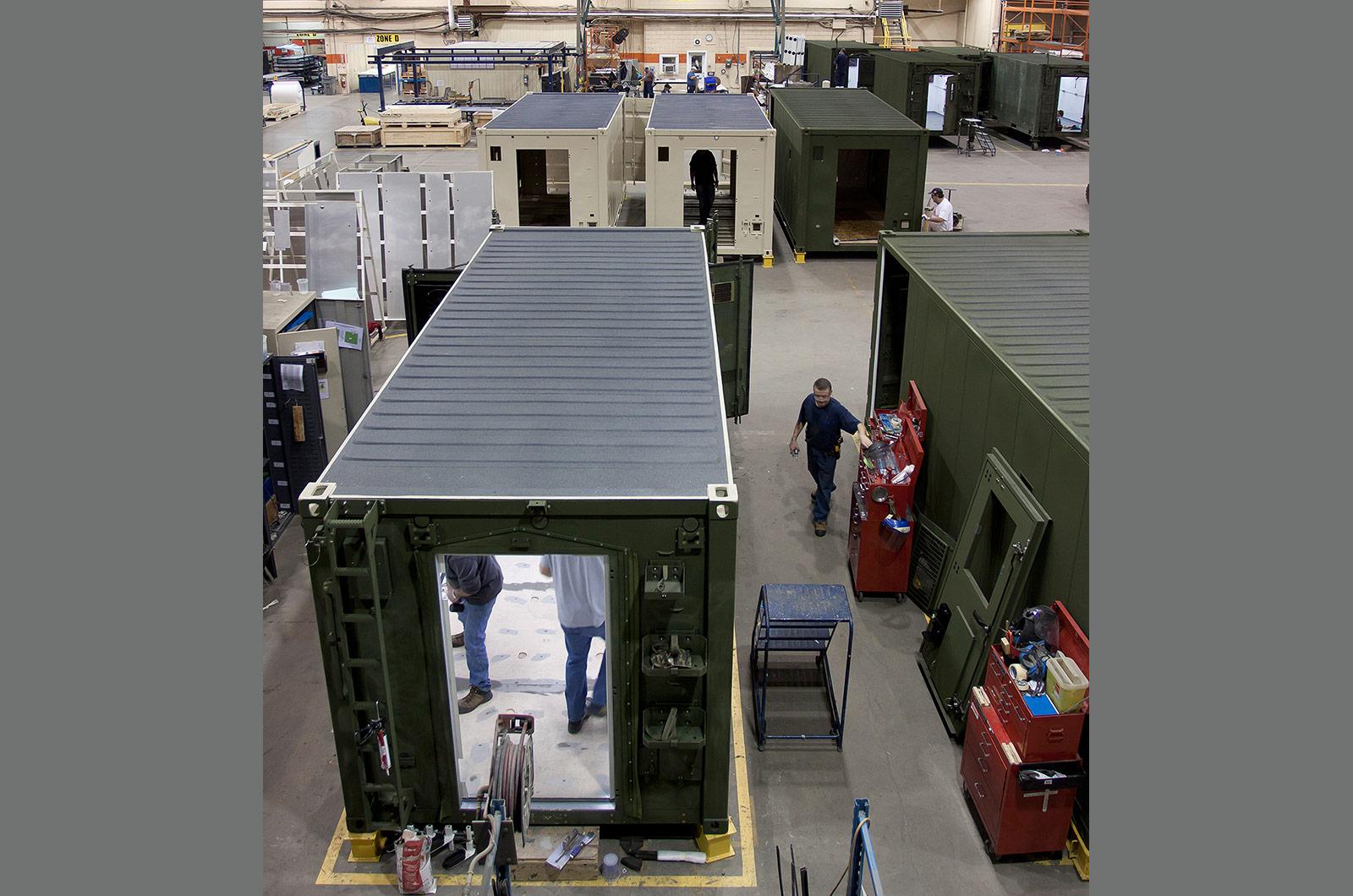 DEW Shelter Production,Miramichi, NB