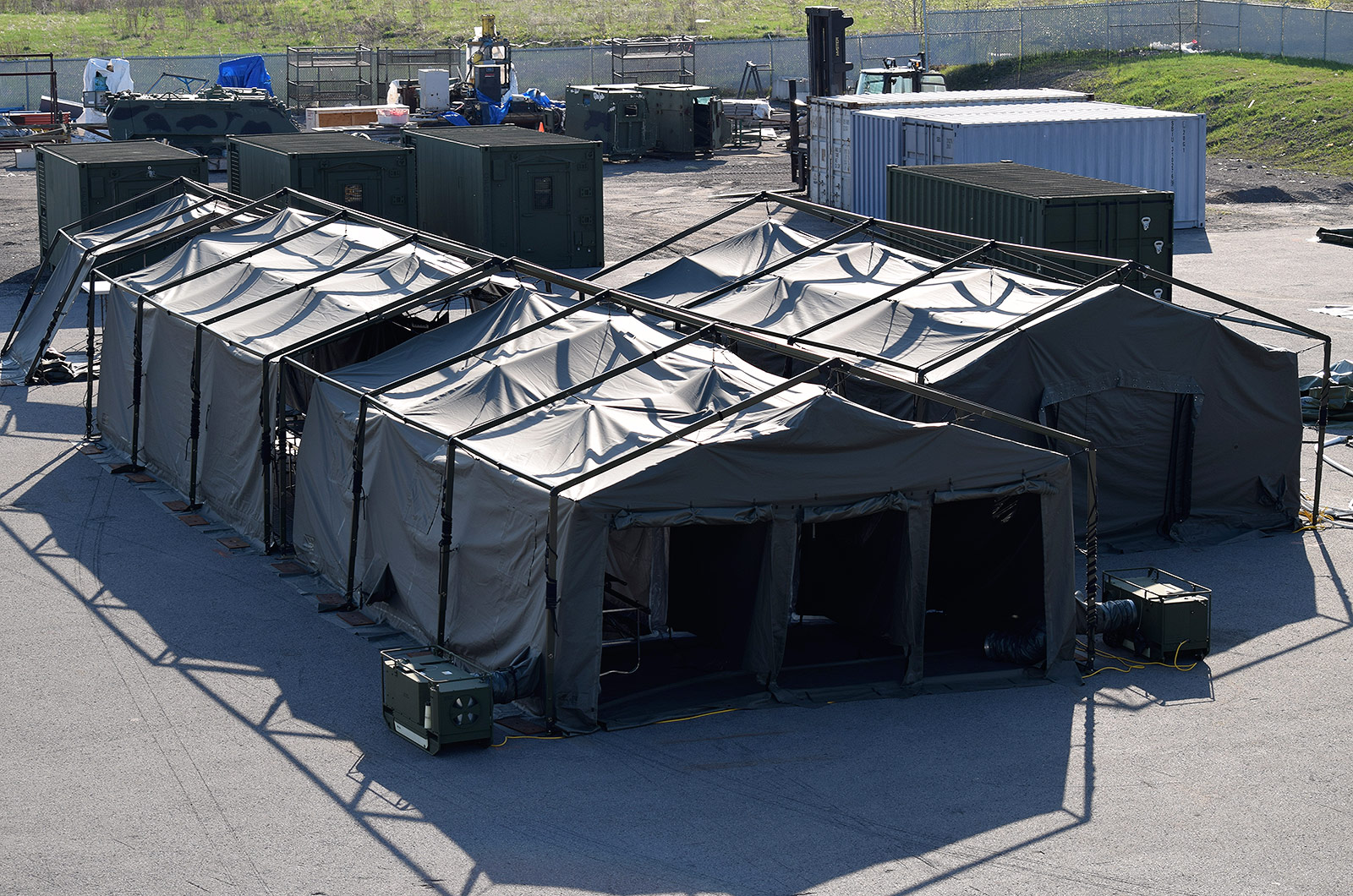 CBRN Personnel and Casualty Decontamination Shelters