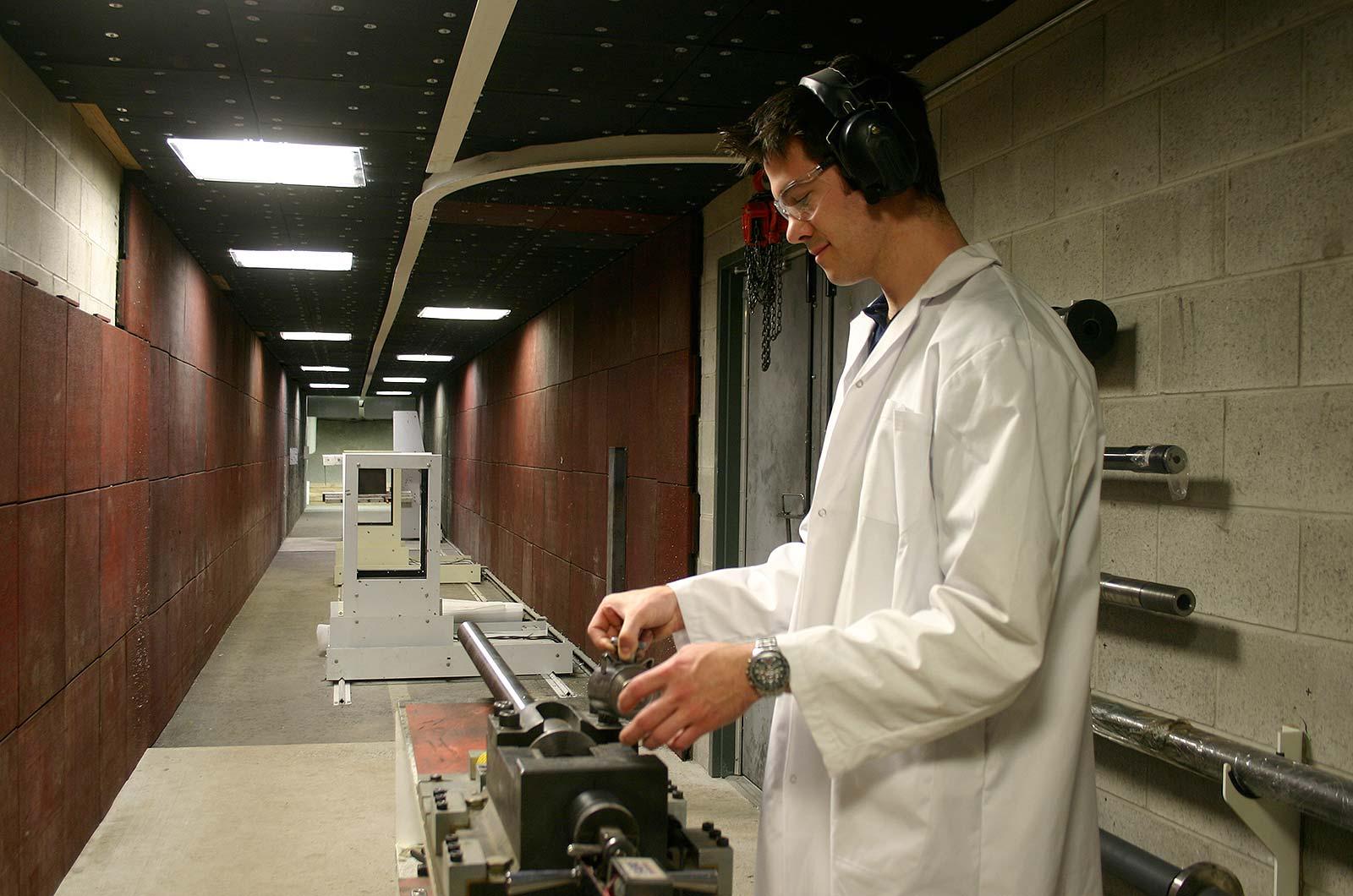 DEW Headquarters Ottawa - Ballistic Test Range