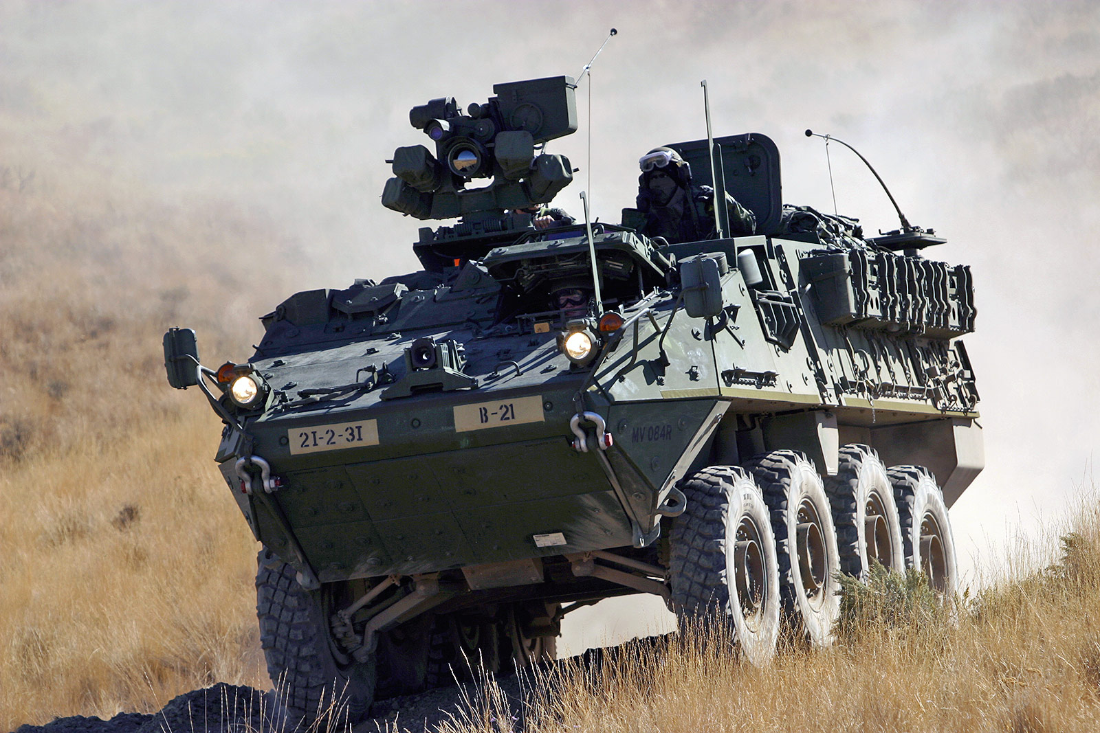 Add-on Armour - US Army Stryker Family of Vehicles