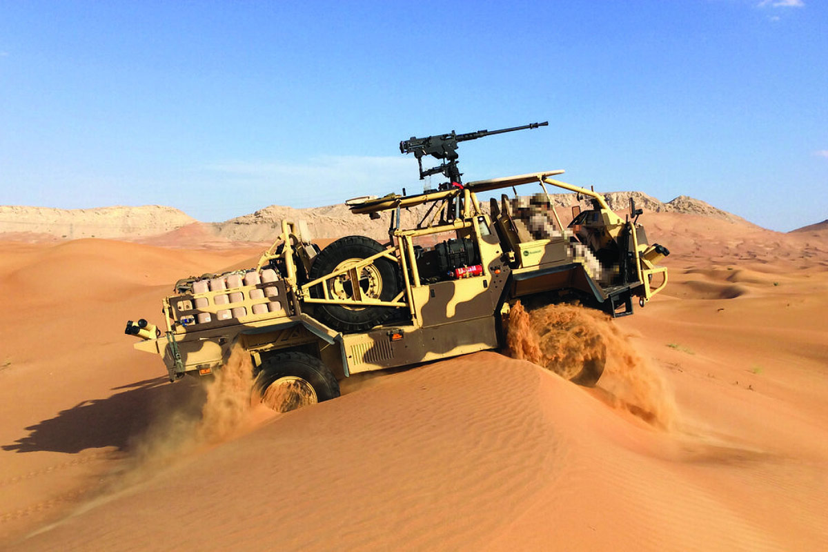The Supacat High Mobility Transporter (HMT)
