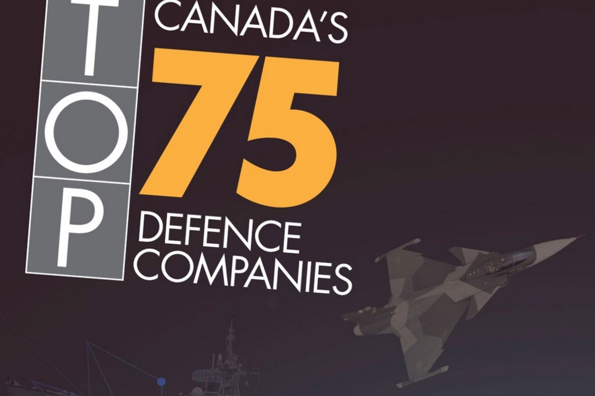 Canada's Top 75 Defence Companies by CDR