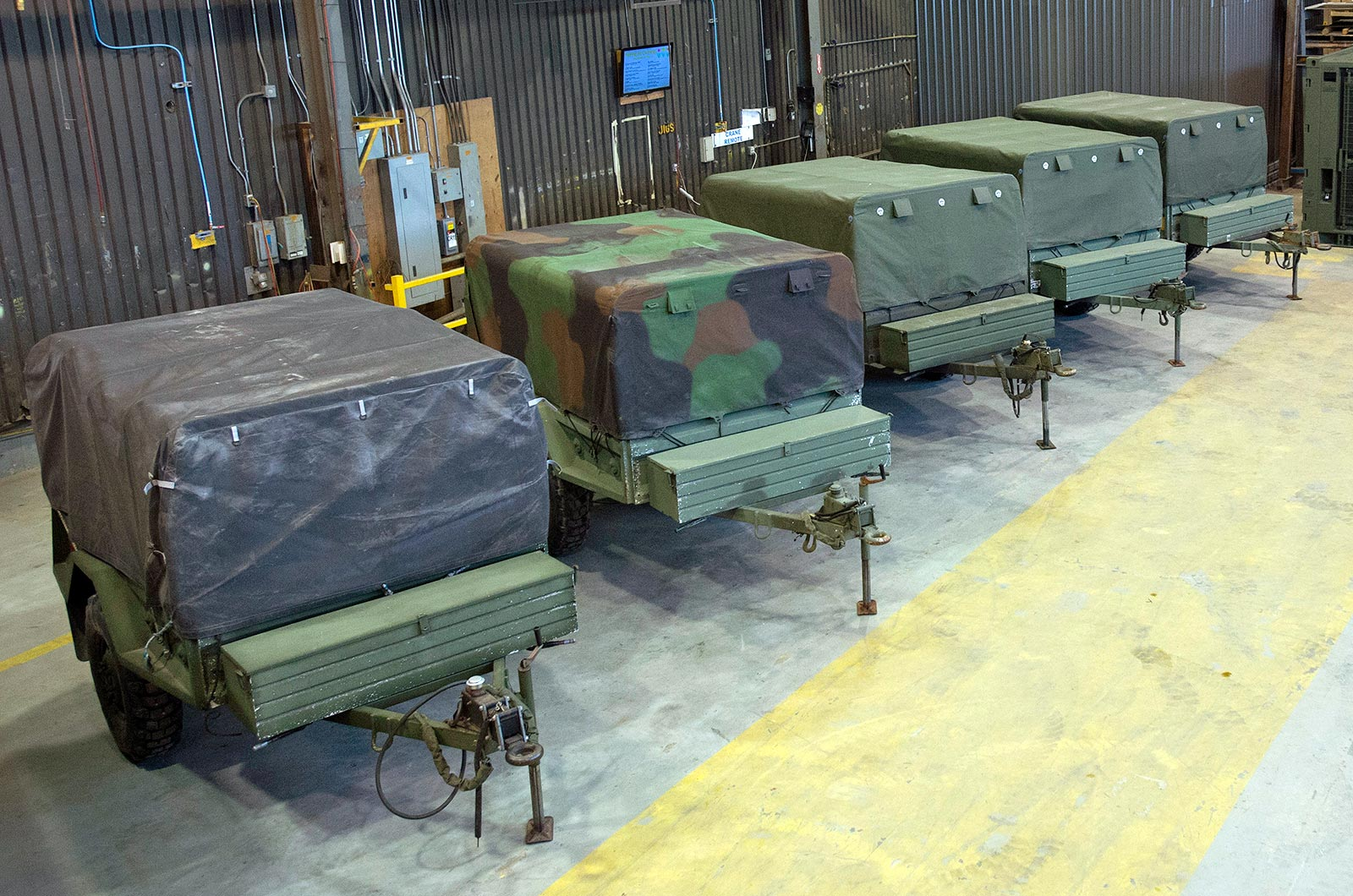 DEW Military Trailers